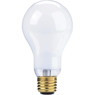 Globe A19 Incandescent Trilight Light Bulb, 50W/100W/150W, Soft White