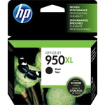 HP 950XL Black High Yield Original Ink Cartridge (CN045AN)