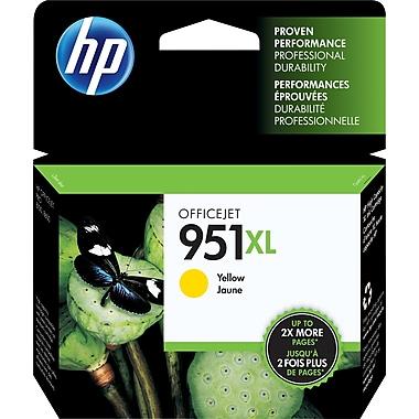 HP 951XL Cartouche d'encre jaune à rendement élevé d'origine (CN048AN)