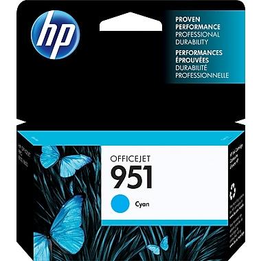 HP 951 Cartouche d'encre cyan d'origine (CN050AN)