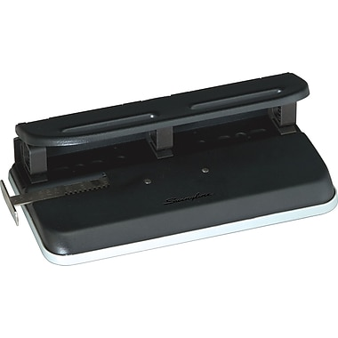 Swingline® Desktop 2- to 3-Hole Punch, 24 Sheet Capacity