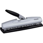 Swingline® LightTouch™ Desktop 2- to 3-Hole Punch, 12 Sheet Capacity