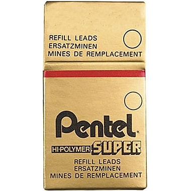 Pentel® Mechanical Pencil Lead Refills, 0.5mm B, 12/Pack