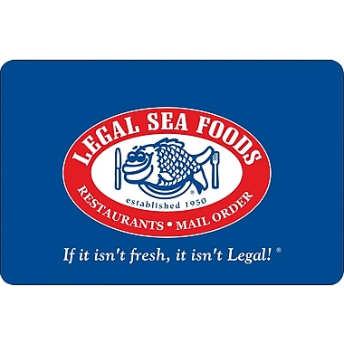 Legal Sea Foods Gift Card $100 (Email Delivery)