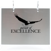 Silver Photo Flip Frame, Pursuit of Excellence