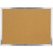 Quartet® Economy Cork Bulletin Boards, Aluminum Frame