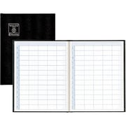 "Blueline® Undated Appointment Book, 11"" x 8-1/2"", Black"