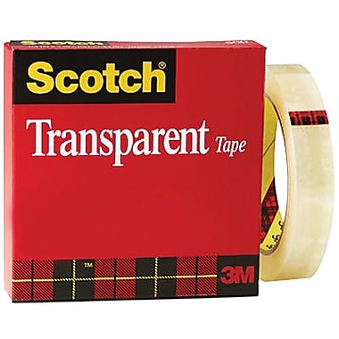 Scotch™ – Ruban transparent, en boîte, 18 mm x 65,8 m