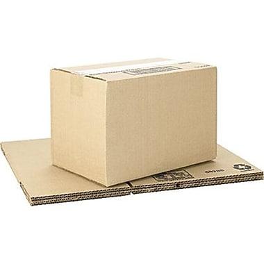 Boîtes en carton ondulé ICONEX/NCR kraft brun, 12 x 8 x 8 po, paq./25 (69288)