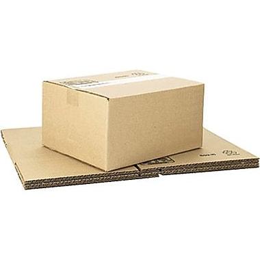 Boîtes en carton ondulé ICONEX/NCR kraft brun, 12 x 10 x 6 po, paq./25 (69216)