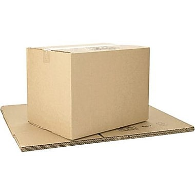 Boîtes en carton ondulé ICONEX/NCR kraft brun, 16 x 12 x 12 po, paq./10 (69622)