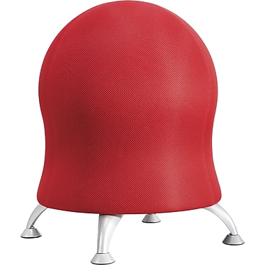 Safco® 4750CI Ball Chair, Crimson