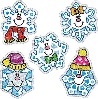 Carson-Dellosa Snowflakes Dazzle Stickers, 105/Pk 825953