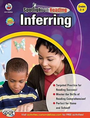 Frank Schaffer Inferring Resource Book, Grades 3 - 4