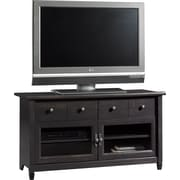 Sauder® Edge Water Panel TV Stand, Estate Black