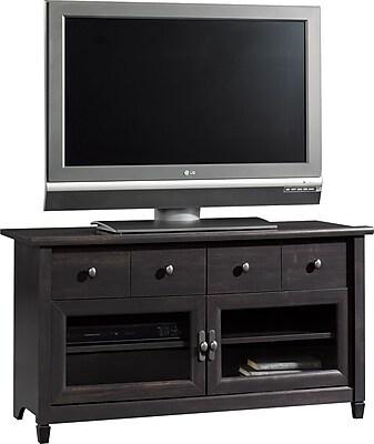 Sauder® Edge Water Panel TV Stand, Estate Black