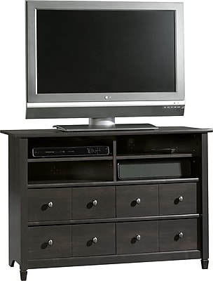 Sauder® Edge Water Highboy TV Stand, Estate Black