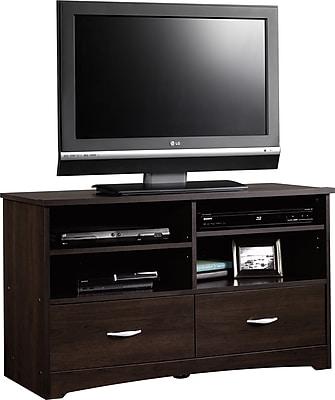 Sauder® Beginnings TV Stand, Cinnamon Cherry