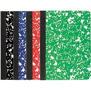 """Staples® Mini Composition Book, 3 1/4""""x 4 1/2"""", College Ruled, 80 Sheets, 2 Pack"""