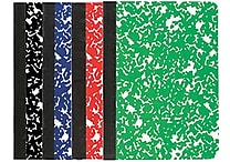 Staples® Mini Composition Book, 3 1/4'x 4 1/2', College Ruled, 80 Sheets, 2 Pack