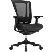 nefil Elite Smart-Motion Mesh Manager's Chair, Adjustable Arms, Black