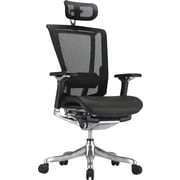 nefil Pro Smart Motion Mesh Manager's Chair; Adjustable Arms, Black