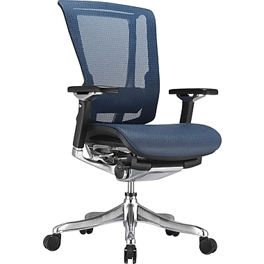 Raynor nefil Pro Smart Motion Mesh Managers Chair, Tech Blue