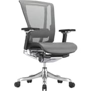 nefil Pro Smart Motion Tech Mesh Manager's Chair, Adjustable Arms, Gray