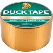 "Duck Tape® Brand Duct Tape, Gold, 1.88""x 10 Yards"