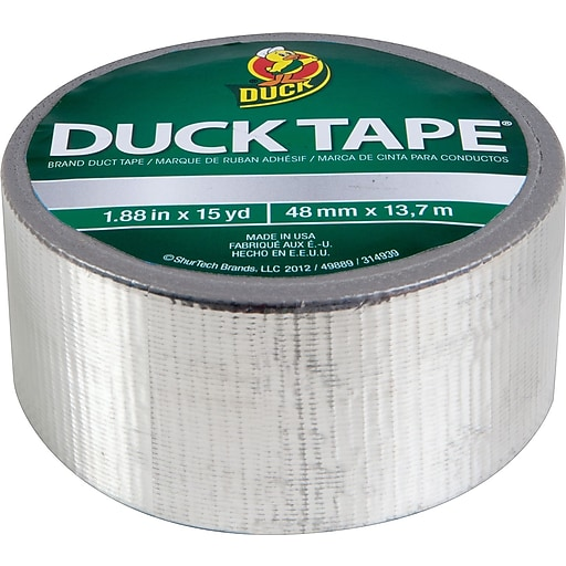 Shop Staples for Duck Tape® Brand Duct Tape, Chrome, 1.88 ...