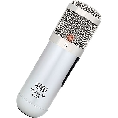 MXLMD – Microphone USB 24 bits, 20 Hz - 20 kHz