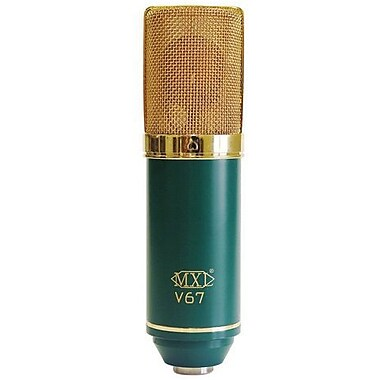 MXL MXLV67G Wired Large Capsule Condenser Microphone, Green