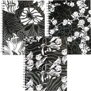"Hilroy Silhouette Case-Made Notebook, 10-1/2"" x 8"", Black/White, 100 Pages"