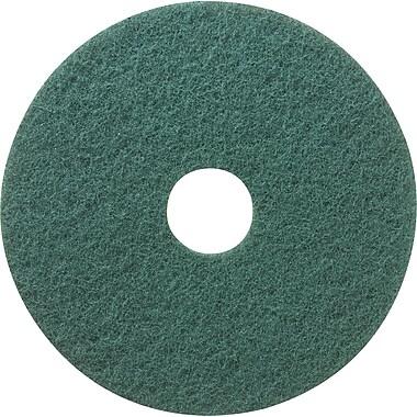 3MMC – Tampons à récurer pour planchers Niagara, 20 po, vert, 5/pqt