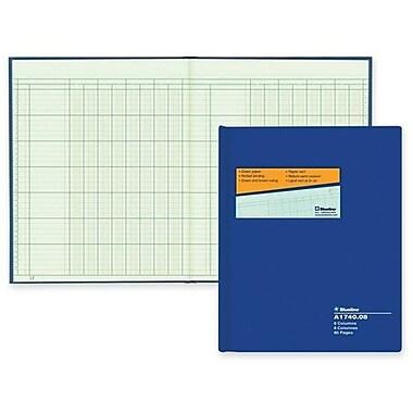 Blueline® – Livret à colonne AccountPro A1740C, 8 colonnes