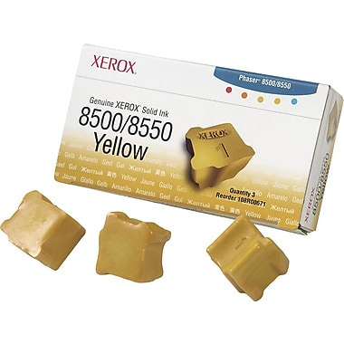 Xerox® 108R00671 Yellow Solid Ink, 3/Pack