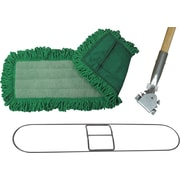 "O'Dell® Microfiber Dry Dust Mop Pad, 48"" x 5"", Green"