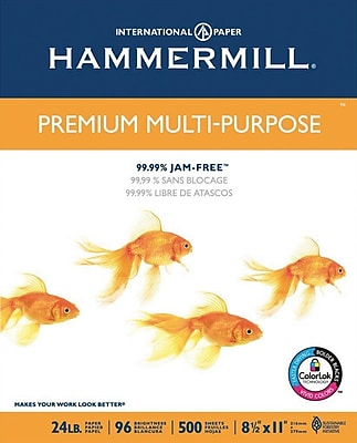 Hammermill Multi-Purpose Copy Paper, 8-1/2
