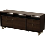 South Shore Stockholm TV Stand, Mocha