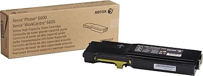 Xerox Yellow Toner High Yield Cartridge, (106R02227)