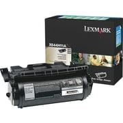 Lexmark™ – Cartouche de toner noire X644H11A, programme de retour, haut rendement
