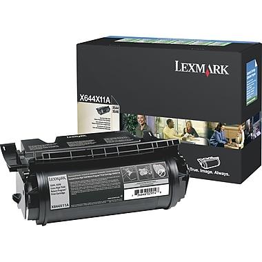 Lexmark™ – Cartouche de toner X644X11A admissible au programme de retour, extra haut rendement