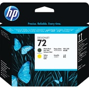 HP 72 Matte Black/Yellow Printhead (C9384A)
