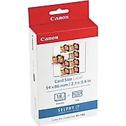 Canon KC-18IL Black/Color Print Cartridge / Paper Kit, Standard Yield (7740A001)