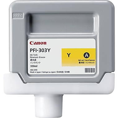 Canon PFI-303Y Yellow Ink Cartridge (2961B001AA)