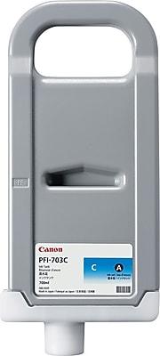 Canon® 2964B001 (PFI-703C) Ink, 700 mL, Cyan