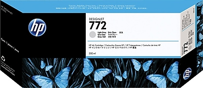 HP 772 Light Gray Ink Cartridge (CN634A), Extra High Yield
