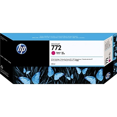 HP 772 Magenta Ink Cartridge (CN629A), Extra High Yield