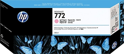 HP 772 Light Magenta Ink Cartridge (CN631A), Extra High Yield