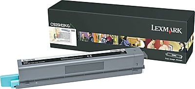 Lexmark C925 Black Toner Cartridge (C925H2KG), High Yield